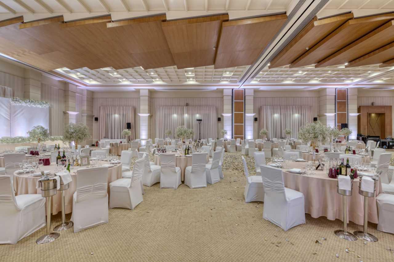 Зал для урочистих подій у готелі Ріксос Прикарпаття