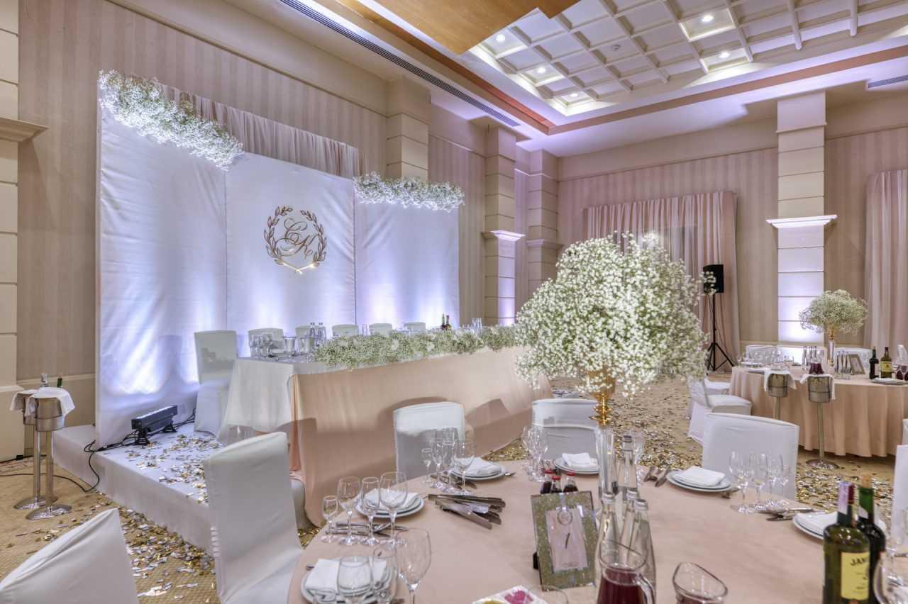 Зал для мероприятий в отеле Риксос Прикарпатье
