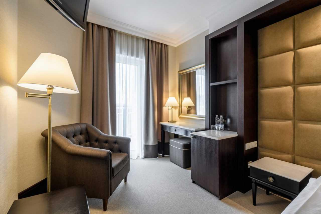 Дизайн номера, отель Риксос