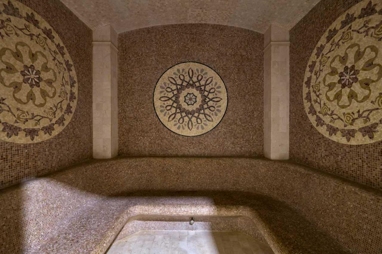 Roman steam room, Rixos Prykarpattya