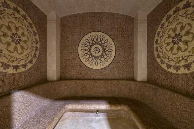 Roman steam room, Rixos Prykarpattya
