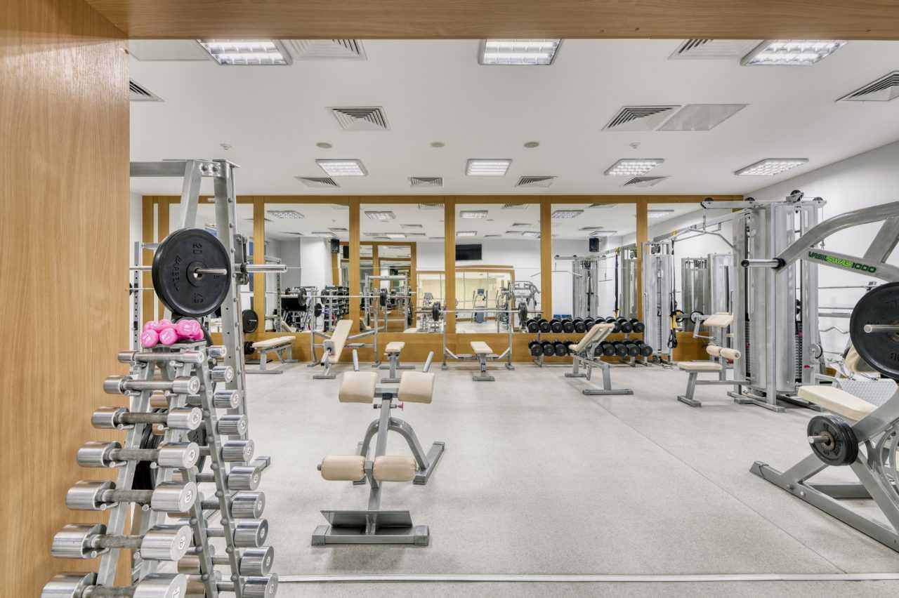 Фитнесс зал в отеле Риксос Прикарпатье