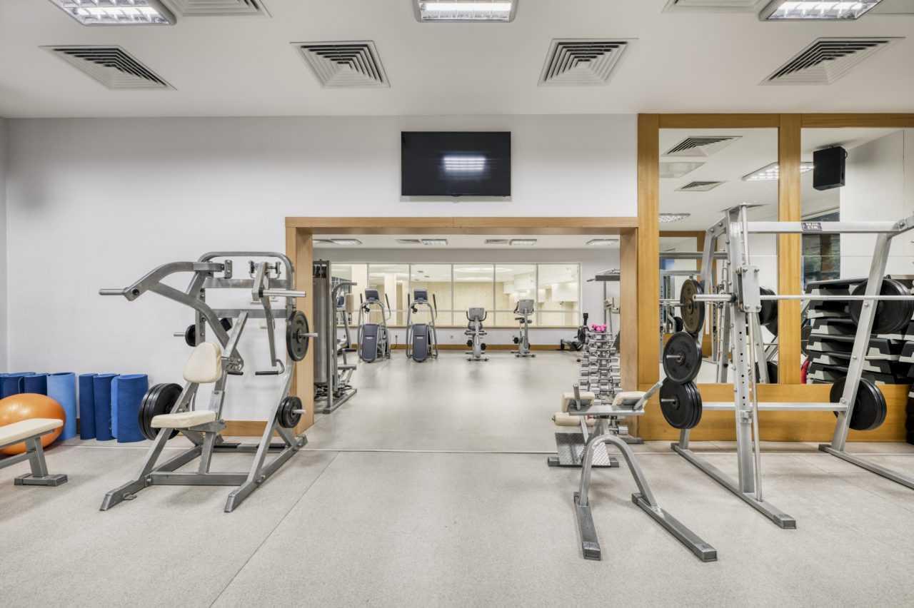 Fitness hall, Rixos Prykarpattya
