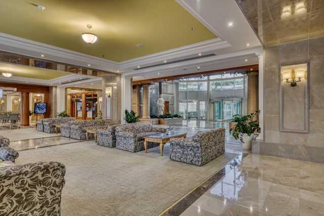 Рецепция, Отельный комплекс Риксос
