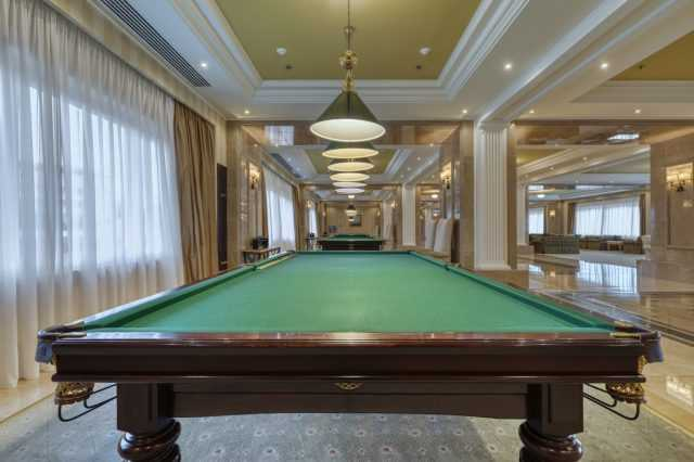 Billiard table, hotel Rixos