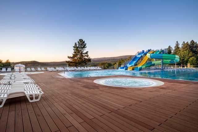 Водныйе развлечения в отеле Риксос Прикарпатье