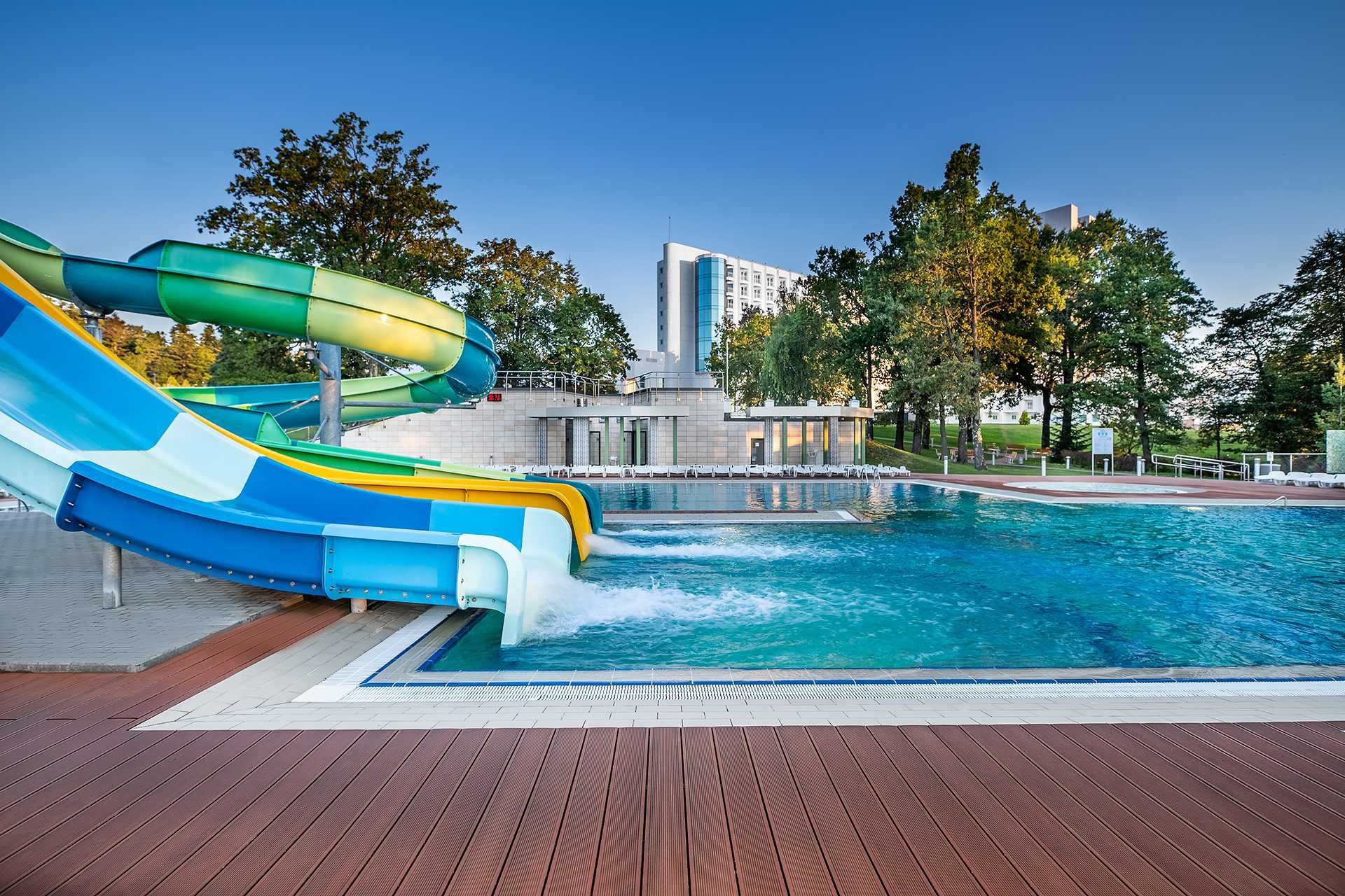 Water slides, Rixos Pryksrpattya