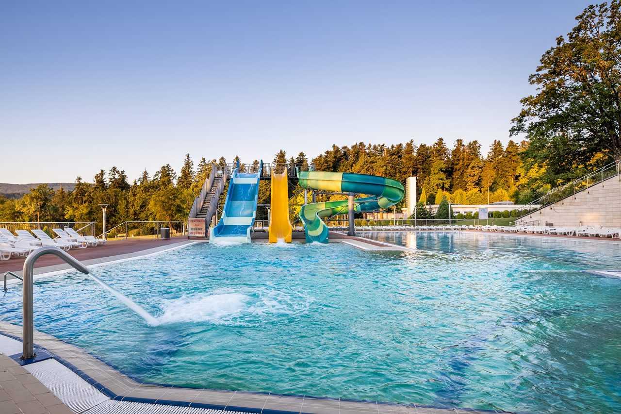 Aqua park, hotel Rixos