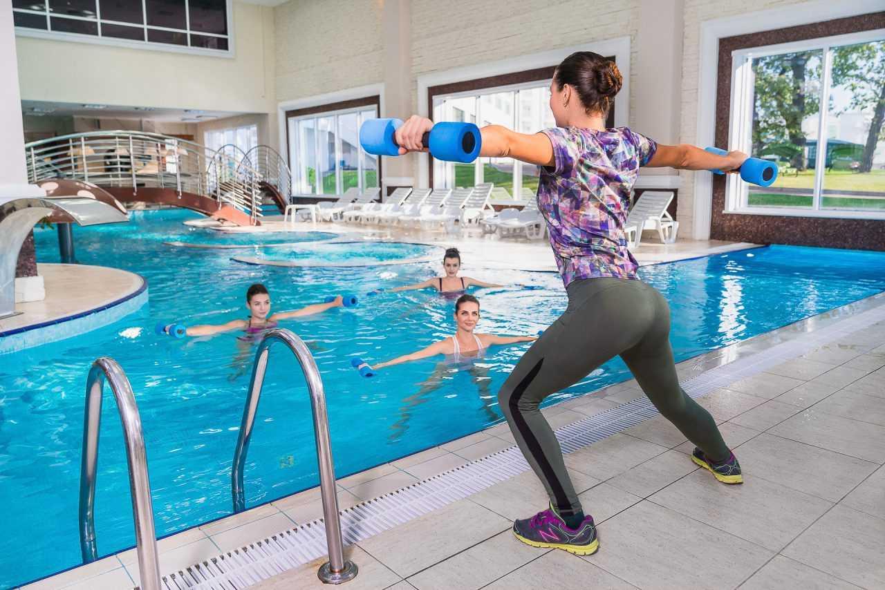 Aqua aerobic, Rixos hotel
