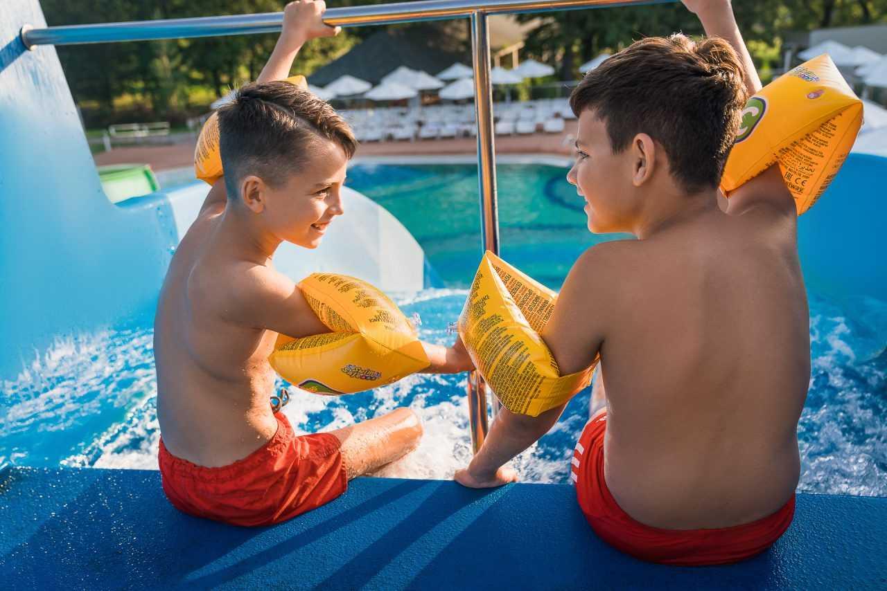 Развлечения для детей, отел Риксос