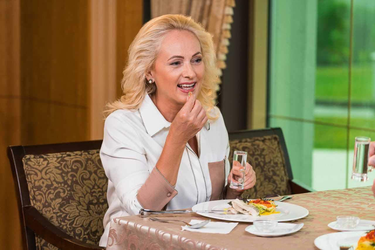 Культура правильного питания, отель Риксос