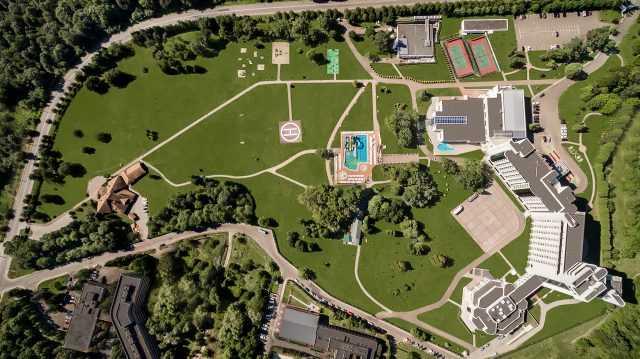Вид с воздуха, Отельный комплекс Rixos