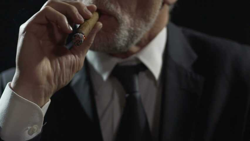 man with a cigar, hotel Rixos