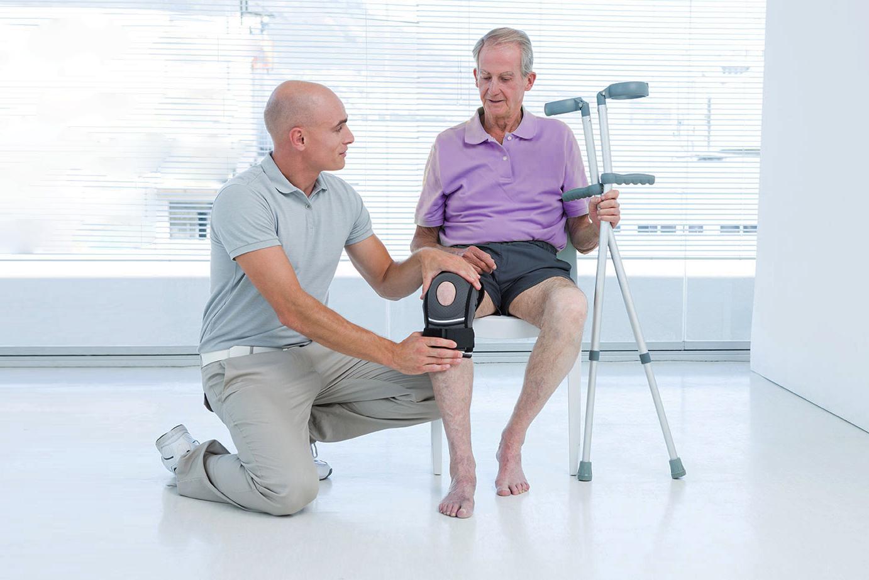 Восстановление после операции на крестообразную связку колена.