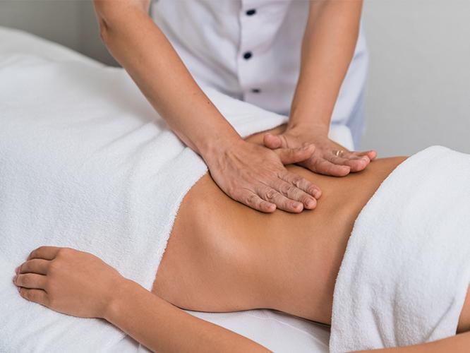 висцеральный массаж органов брюшной полости